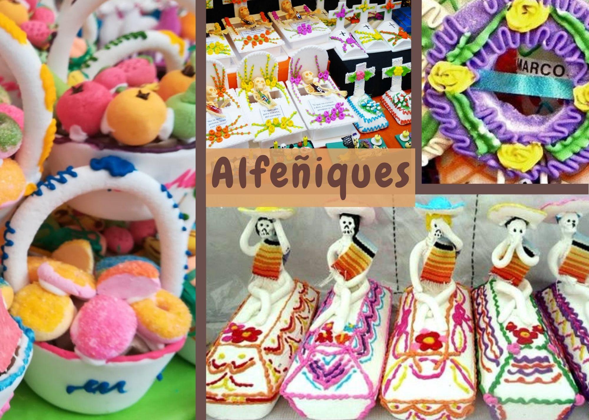 Alfeñiques del Día de Muertos - Pasteles D' Lulú