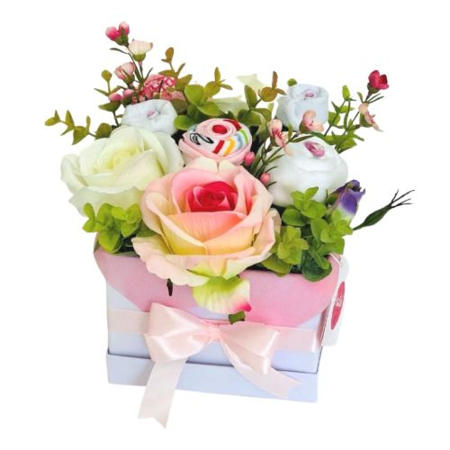 Baby girl gift_newborn basket_christening girl gift_babyshower gift_2C1