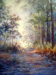 Betty McLean - Foggy Morning Walk