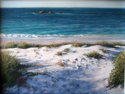 Rayma Reany - Sunset on Pinky Beach - Rottnest