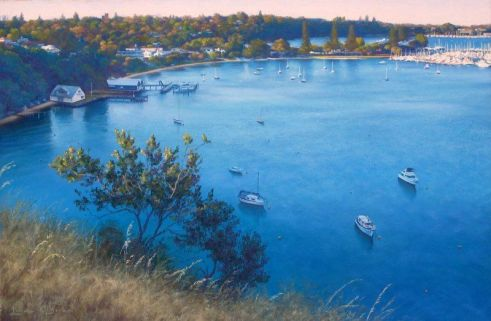 Linda O'Brien - Last Light on Mosman