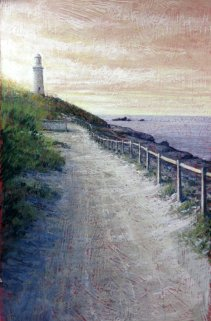 Rayma Reany - Sunset - Bathurst Lighthouse