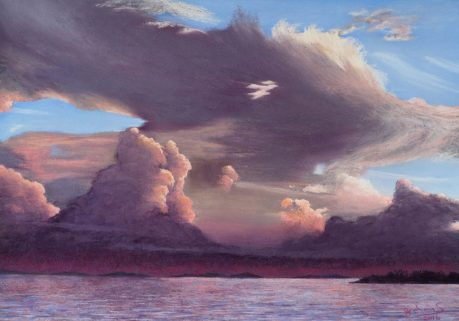 Graham Symonds - Late Afternoon Storm