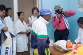 Visite de la délégation de la Fondation ROTARY au Centre de Santé Maternelle et Infantile Moramanga