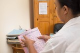 Cahier de surveillance des fièvres au Centre de Santé Maternelle et Infantile Moramanga