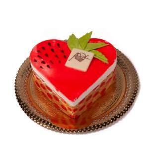 Torta-Semifreddo-Fragola-Cuore