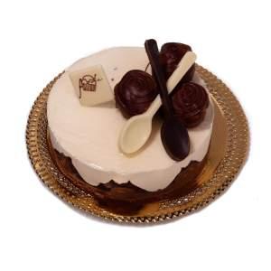 Torta-Semifreddo-Profiteroles