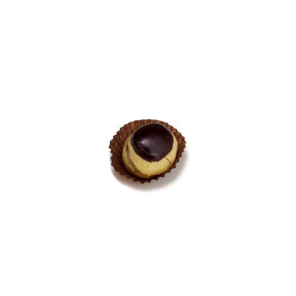 bignola glassata al cioccolato fondente