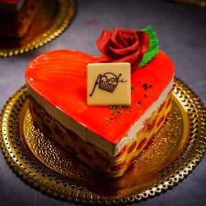Semifreddo cuore San Valentino