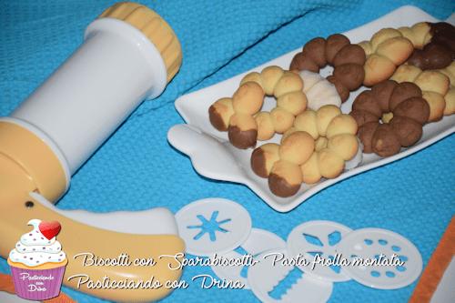 Biscotti con Sparabiscotti (Pasta frolla montata)