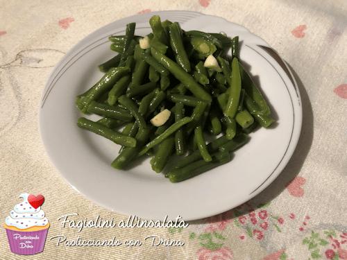 Fagiolini all'insalata