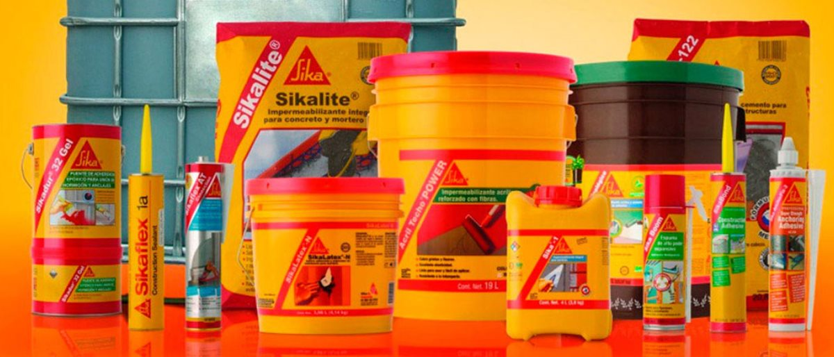 Permalink to: Produk SIKA Chemical Construction