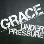 Grace Under Pressure Sermon Art