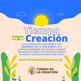 Tiempo de la Creación Ecología integral