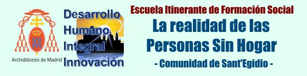 Escuela Itinerante Formación Social. Madrid. Personas sin Hogar slider
