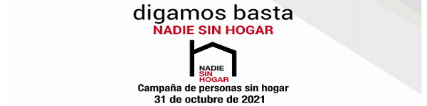 Cáritas. Campaña Personas Sin hogar 2021. ¿Sin Salida? slider