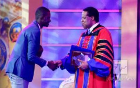 Pastor Chris Awards FALF Winner