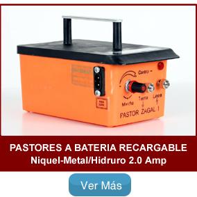 Pastor eléctrico Zagal Recargable