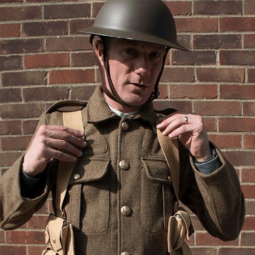 Remembrance: First World War uniform