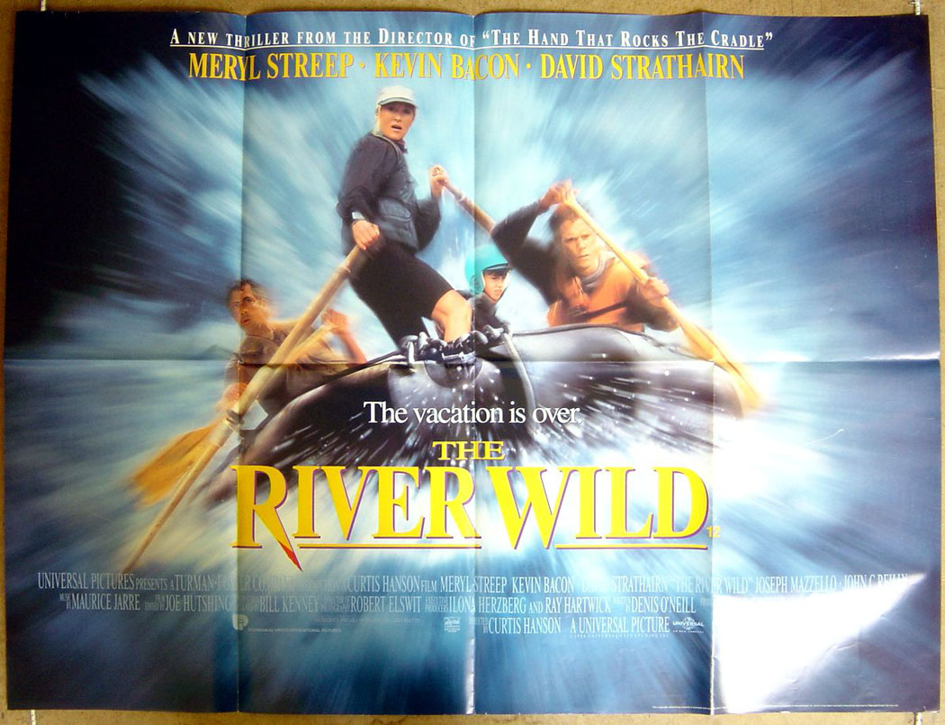 Image result for The River Wild 1994 quad poster