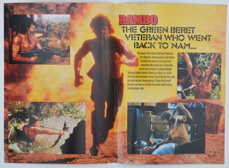 Rambo : First Blood Part II Original 4 Page Synopsis ...