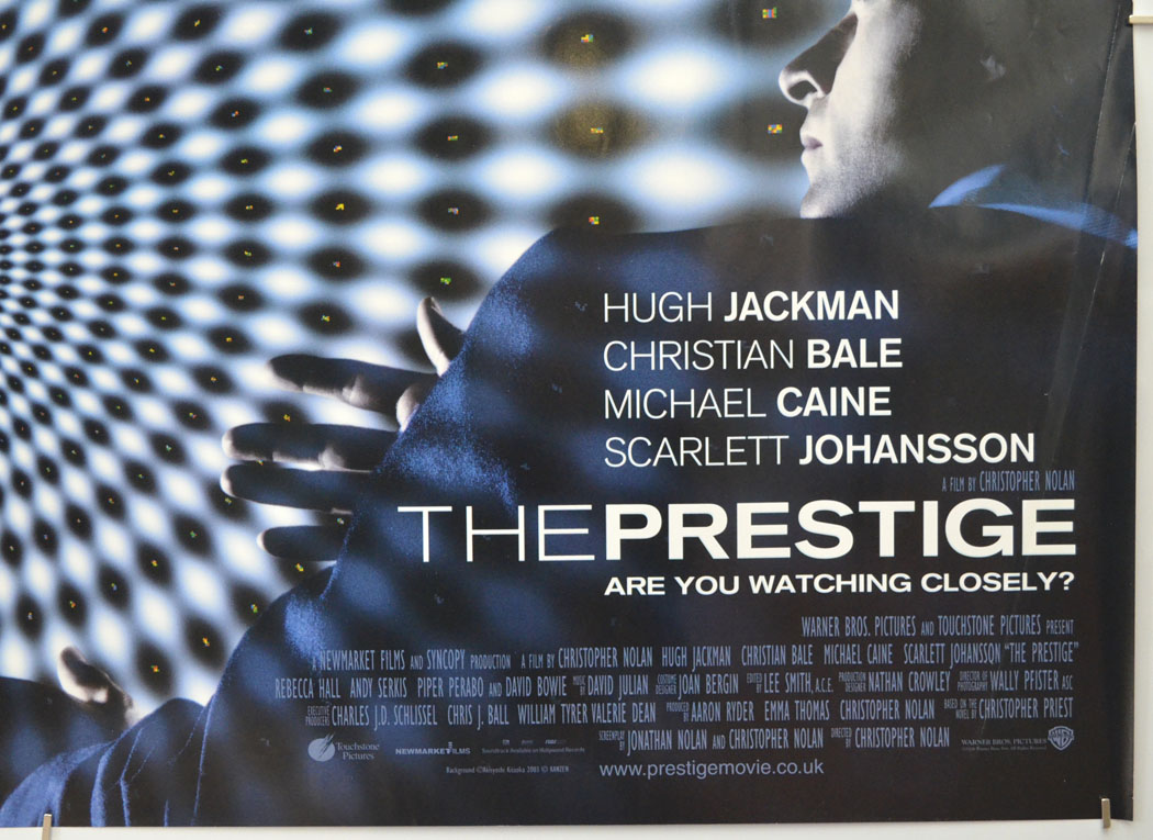 Prestige (The) - Original Cinema Movie Poster From pastposters.com British  Quad Posters and US 1-Sheet Posters