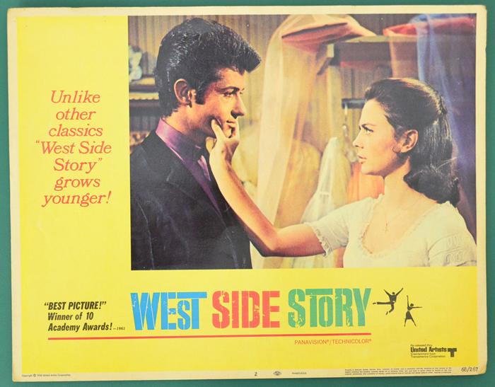Image result for west side story movie poster
