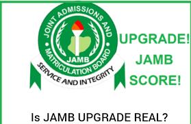 JAMB Result Upgrade