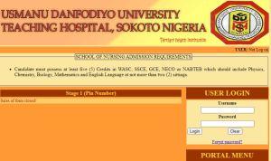 Mathematics, Chemistry, Physics and Biology fromNECO,WAEC,orNABTEB.  UDUTH School of Nursing Admission Portal