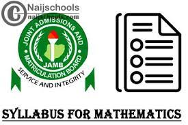 What to Study for JAMB Mathematics Exams
