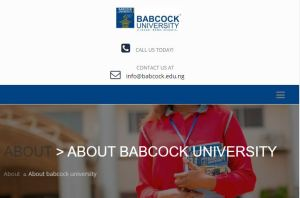 Babcock University Cut-Off Mark and Departmental Cut-Off Points