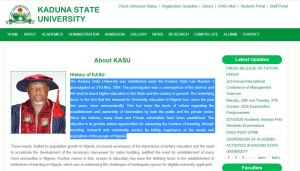 KASU Departmental Cut off Mark for all Courses