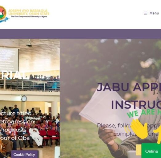 JABU Post UTME Past Questions and Answers