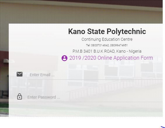 Kanpoly Post UTME Past Questions and Answers