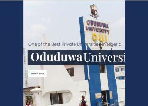 Oduduwa University Cut-Off Mark