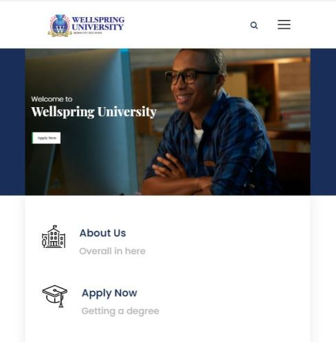 Wellspring University Post UTME Past Questions and Answers