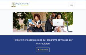Bingham University Cut-Off Mark