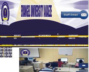Evangel University Cut-Off Mark