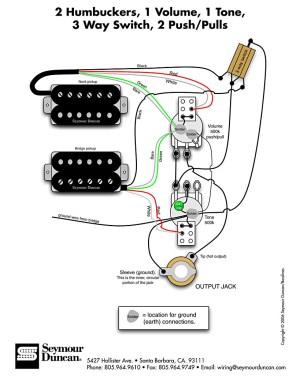 HH1Vol1Ton3Pos2pushpull | Pastrana Guitars