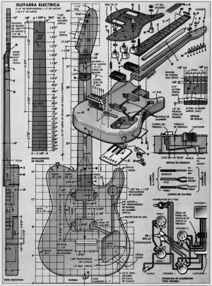 Planos Fender Telecaster | Pastrana Guitars
