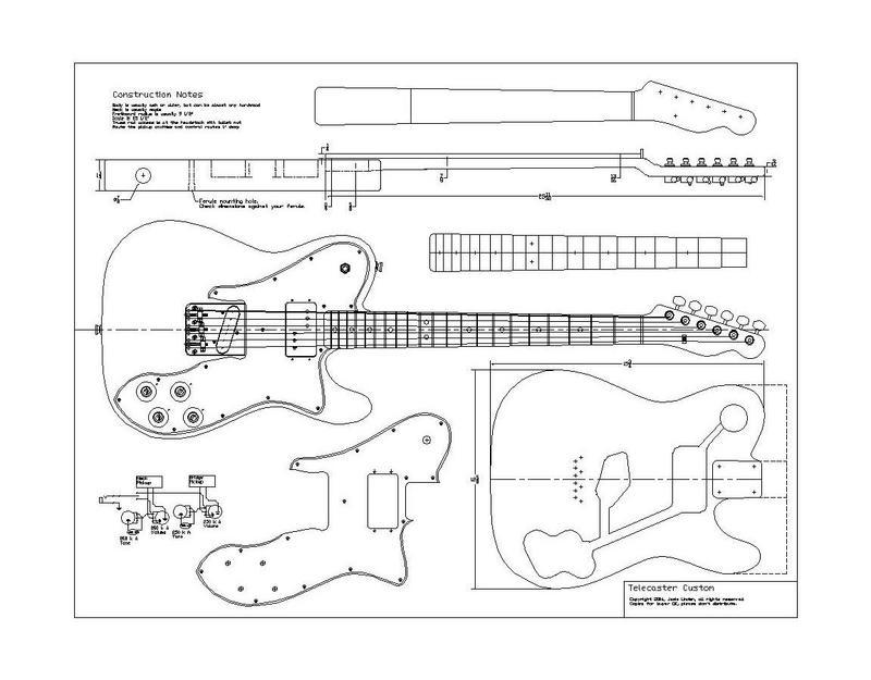 Fender American Special Telecaster Wiring Diagram Fender Baja – Jaguar Bass Wiring