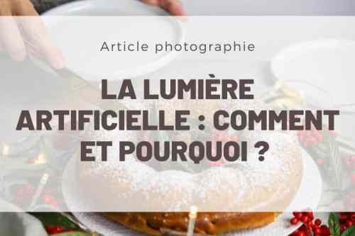 lumière artificielle photo culinaire