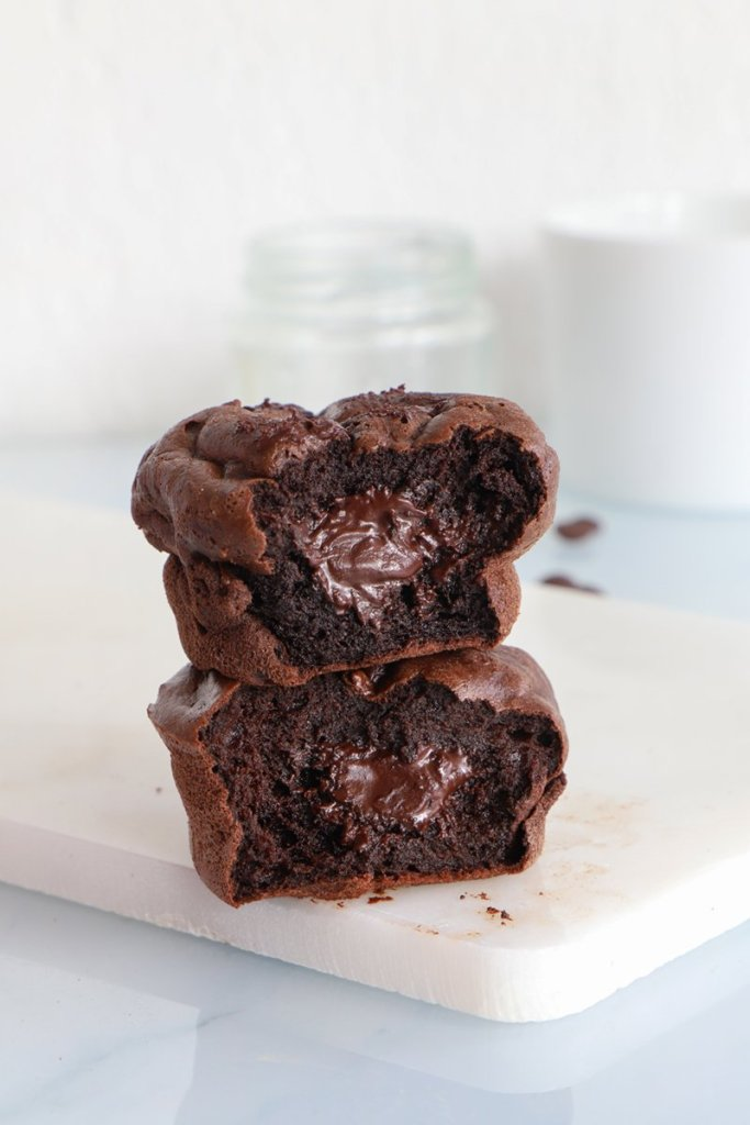 muffins coeur coulant chocolat