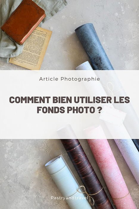 comment utiliser les fonds photo