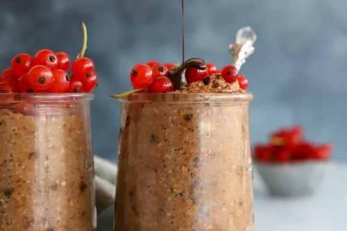 porridge chocolat vegan crémeux