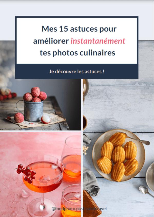 ebook astuces photo culinaire