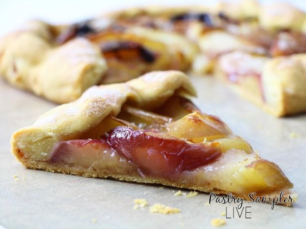 white-nectarine-tart-slice