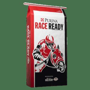 Purina Race Ready Horse Feed.