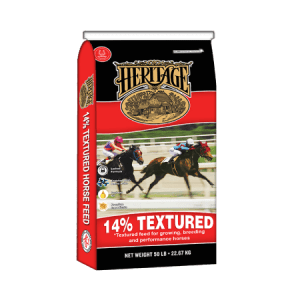 Heritage 14% Textured Horse Feed | Heritage 14% High Fat Textured Horse Feed