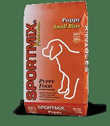 SPORTMiX Puppy Small Bites dog food